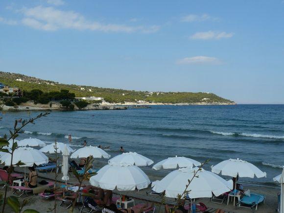 Agia Marina Beach, Aegina
