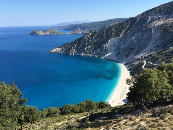 Myrtos beach!