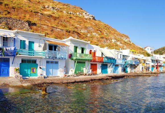 Klima colourfull houses