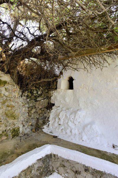 the secret corner at Agios Mamas