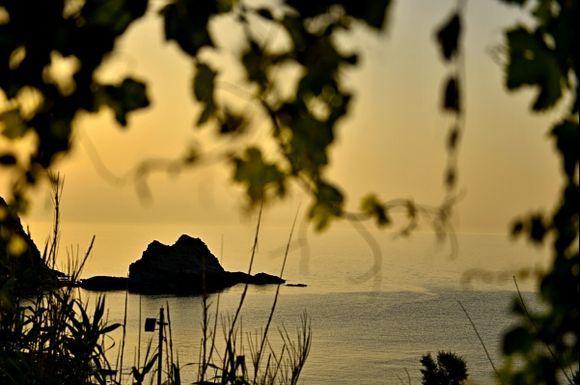 golden sunset ( near Kambos )