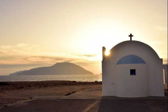sunset at Ag. Theodoros, the south-western-most point of Karpathos