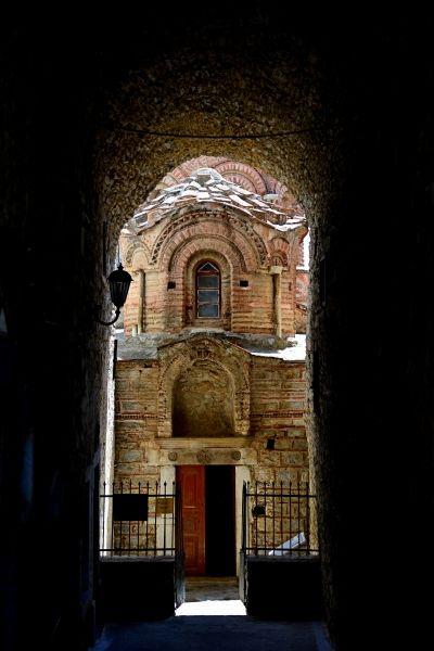 the 13th century Byzantine church of St Apostles