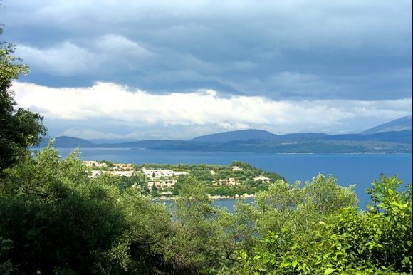 clouds over Albania
