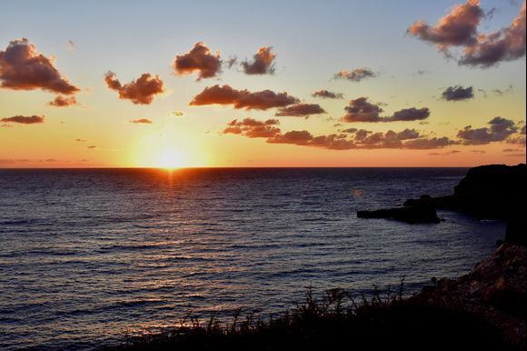 Finiki - sunset