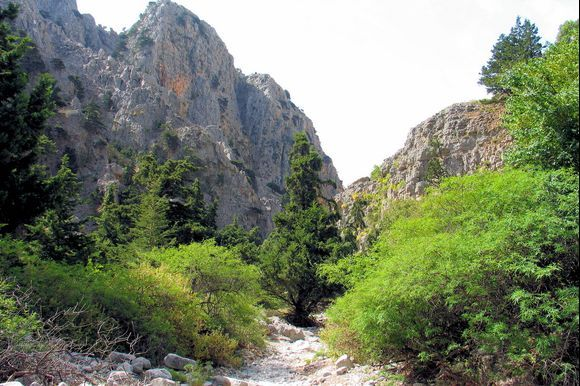 the end of the Imbros-gorge ? Or the beginning ?