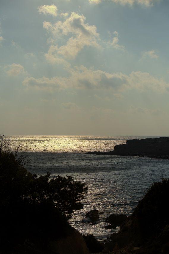 sunset near Fournou beach