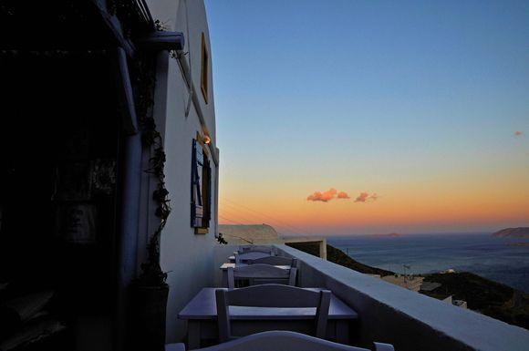 a silent sunset
