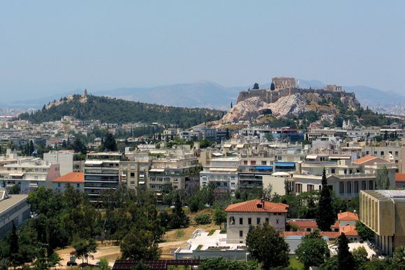 Acropolis and Philopappou hill