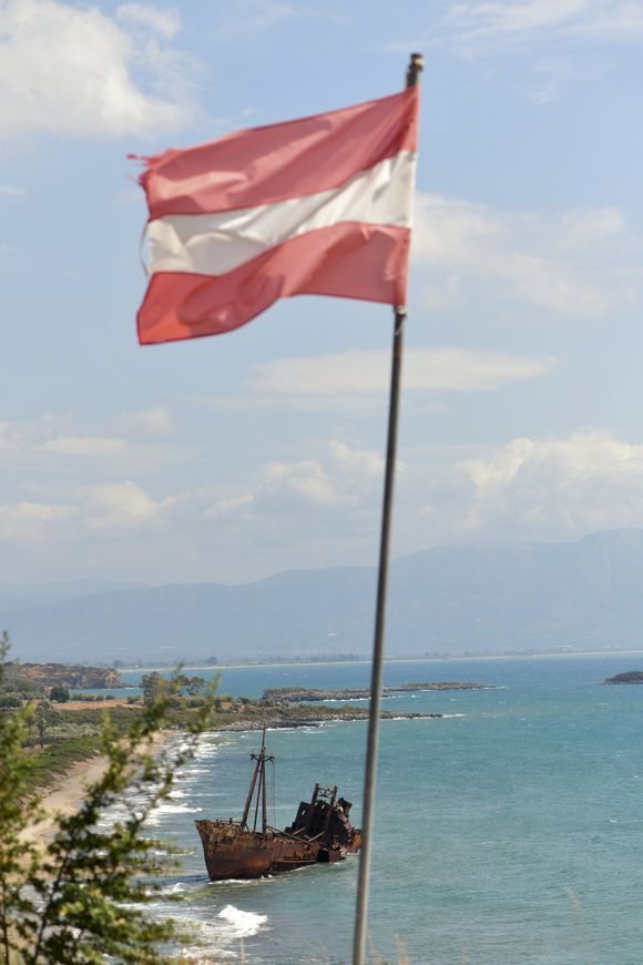 the shipwreck DIMITRIOS under the Austrian flag??