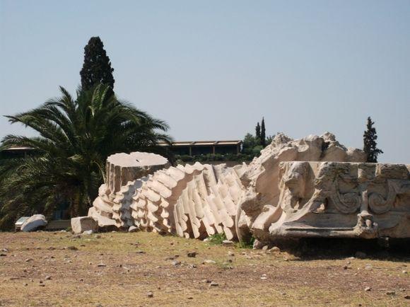 Zeus temple, Athens