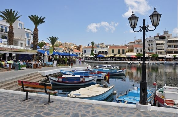 Agios Nikolaos Marketplace On Crete