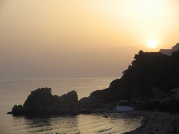 Pelekas Beach sunset