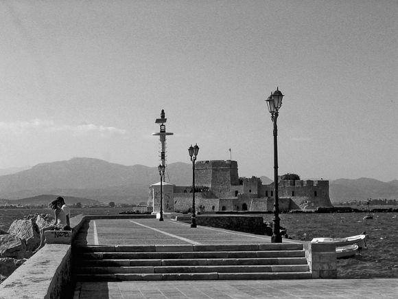 The Bourtzi Fortress, Nafplion