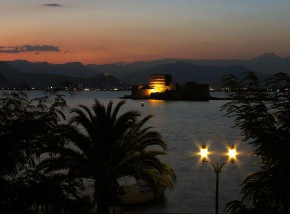Bourtzi at sunset...