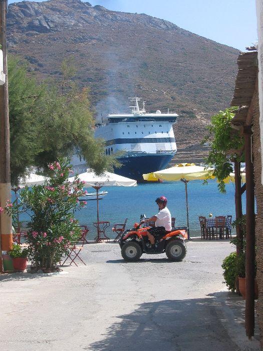 Katapola port. Amorgos
