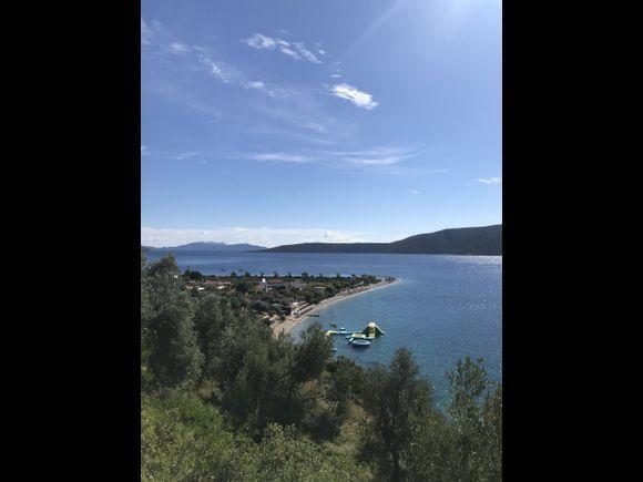 View of Agios Dimitrios beach