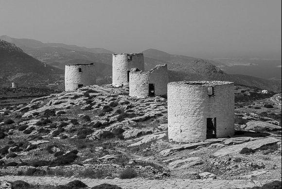 Windmills of Chora