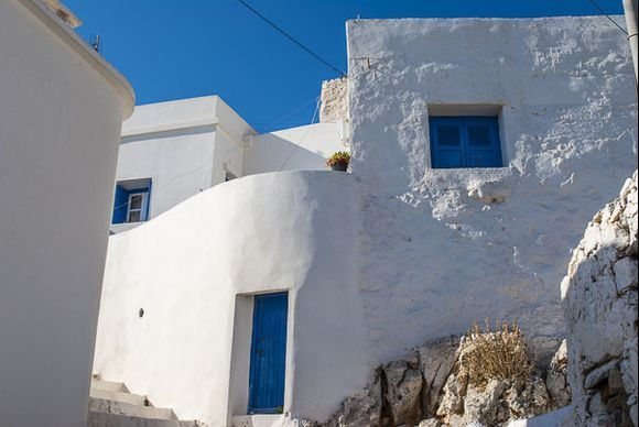 On the streets of Amorgos