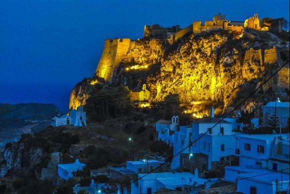 Castle in the night/light