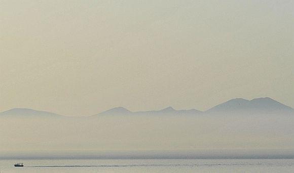 Morning fog towards Sifnos