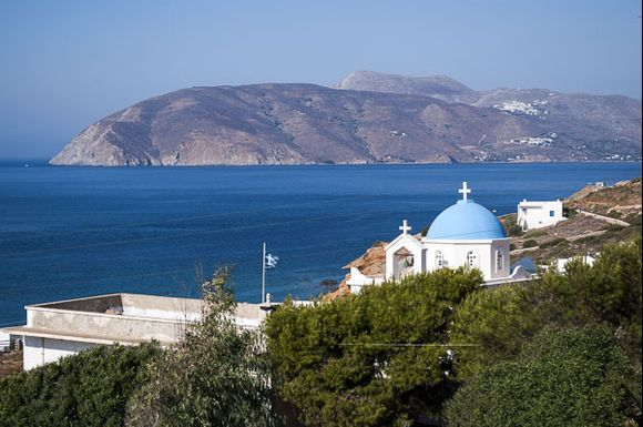 Agios Pavlos (Tholaria is in the background)