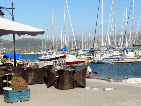 Lefkada yachts harbour,