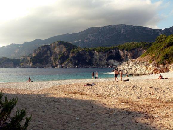 Rovinia Beach,Corfu