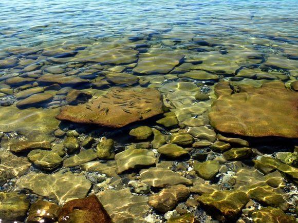 marine scenary on Glifada beach