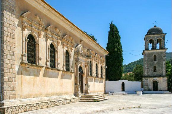 Church of Holy Mary at Keri, Zakynthos.