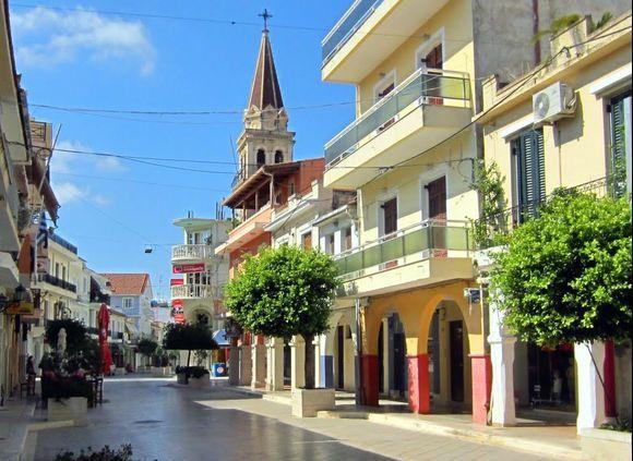 Zakynthos Town - Wednesday morning