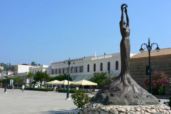 Solomos Square - The central square of Zakynthos island 👍