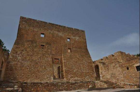 Lassithi, the Kazarma fortress in Sitia