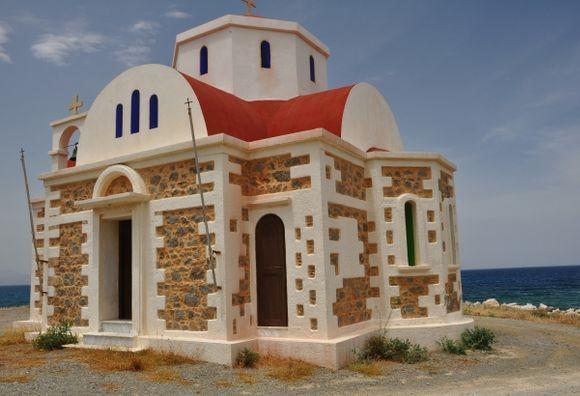 Church in Pahia Ammos, Lassithi