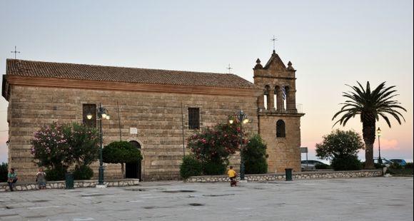 Zante town, Solomos square