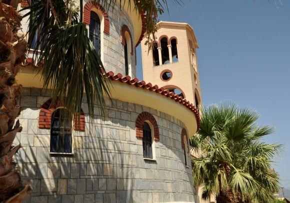 Big church in downtown Kyparissia