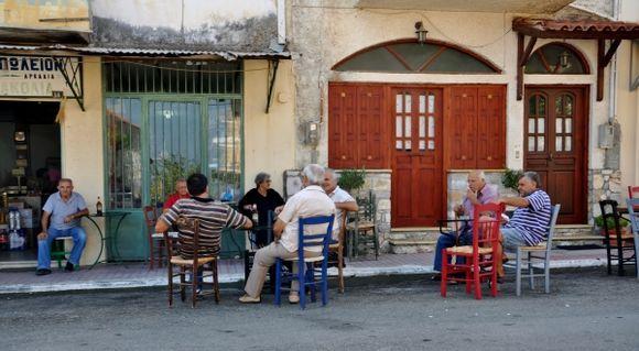 agora gathering in Kyparissia