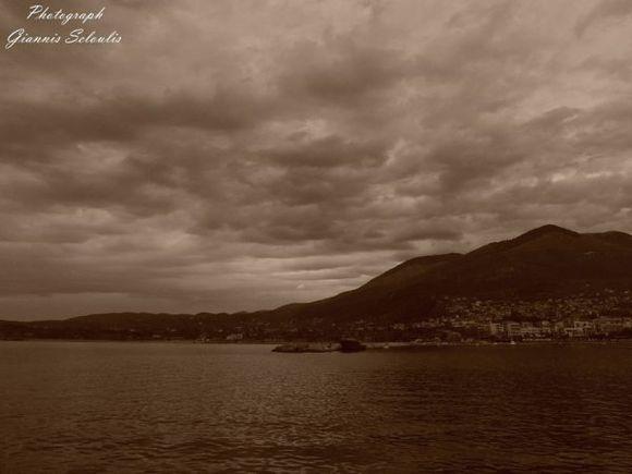 Cloudy beauty in Kyparissia Trifylias