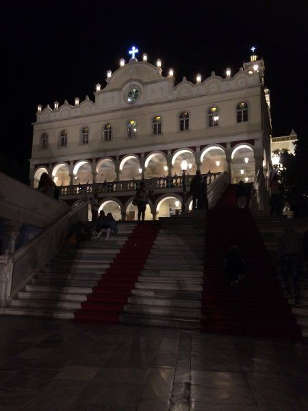 Tinos, Church of the Virgin Mary, 15th August 2017