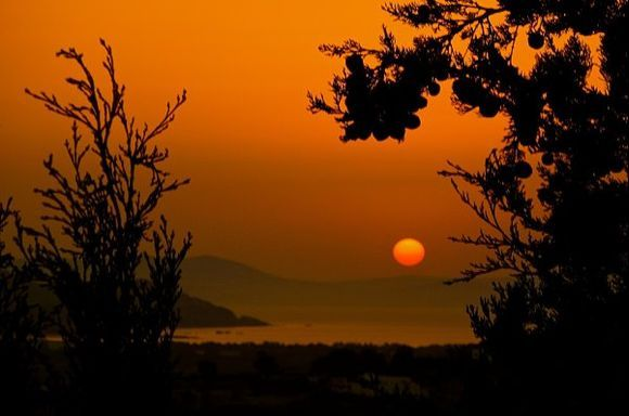 Cycladic sunset