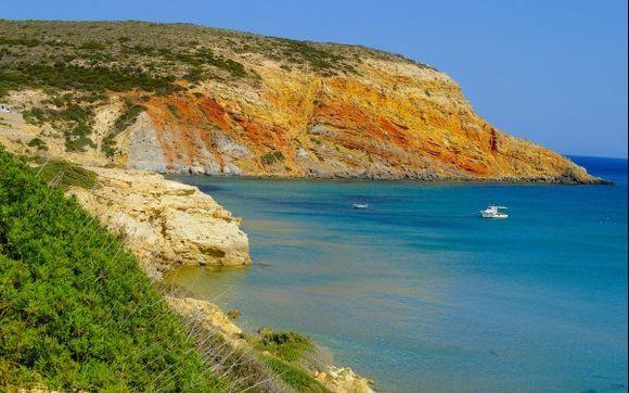 A view of Provatas bay