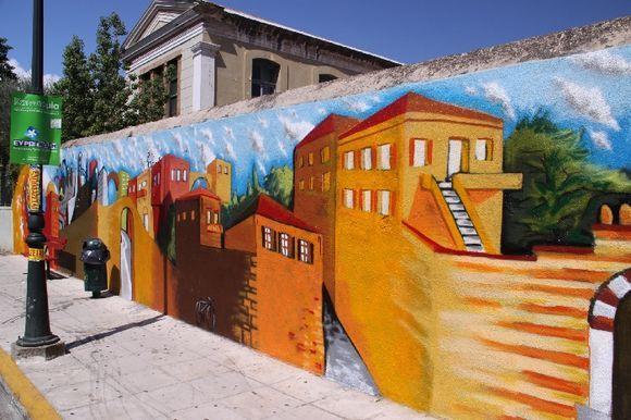 Street art at Chios town