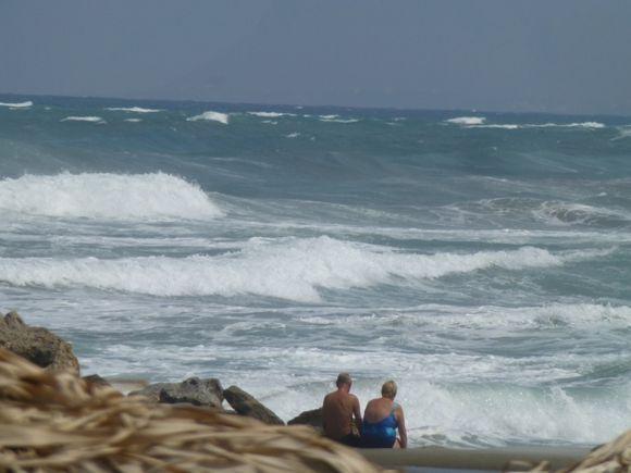 Dreaming away at Agia Marina Crete
