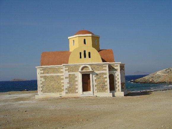 Patchia Ammos beach church