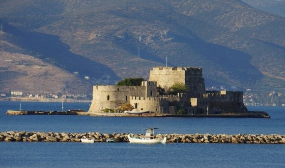 Bortzi castle Nafplion