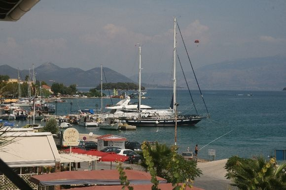Lefkada city scenery