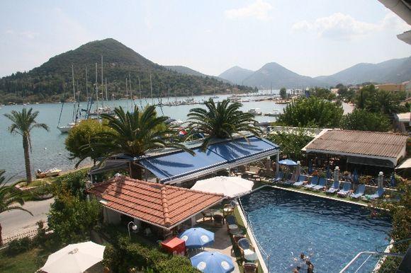 Yachting port scenery