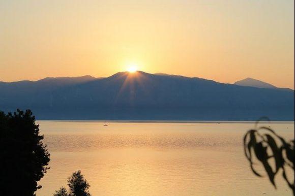 Sunrise in Lefkada