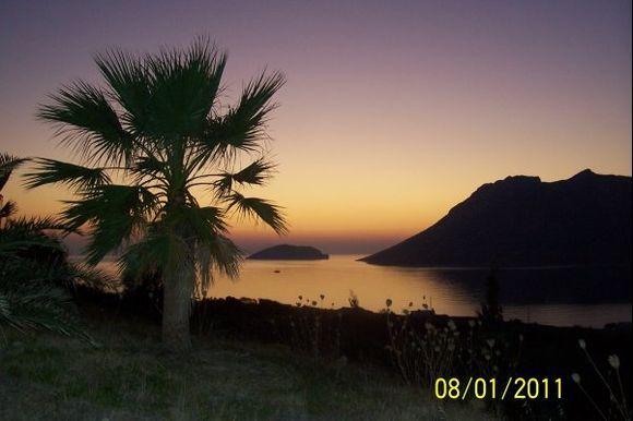 Sunset at Agios Pavlos