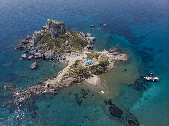 Kastri islet near Kos island